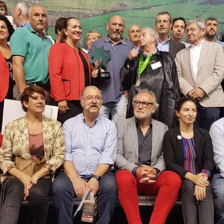 José Luís Odriozola de Aia gana en Ordizia y su medio queso alcanza los 8.200€ en la subasta