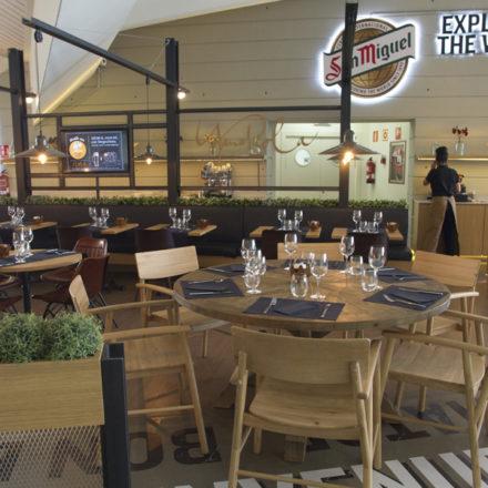 El restaurante Yandiola aterriza en el aeropuerto de Bilbao
