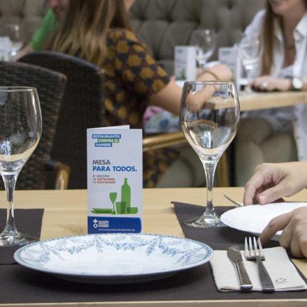 Llega la 8º edición de Restaurantes Contra el Hambre