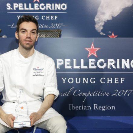 David Andrés, segundo chef de ABaC, ganador del S.Pellegrino Young Chef 2017