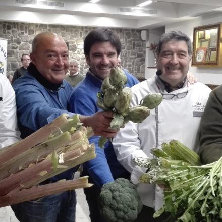 Tudela trae a San Sebastián sus verduras de invierno