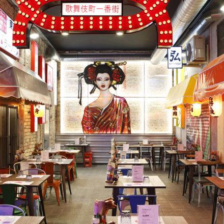 Oishii Ramen Street: comida nipona 'callejera' en el corazón de Barcelona