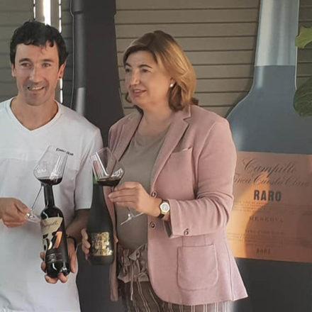 Presentación de los vinos de Faustino