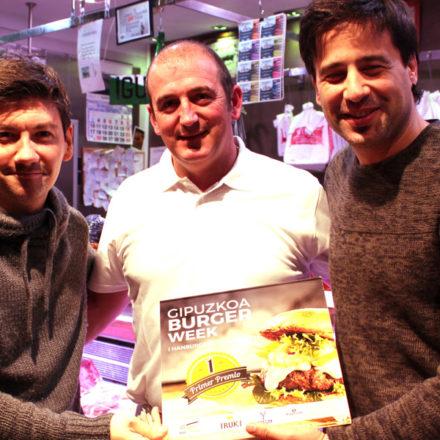 La carnicería Mikel de Donostia se alza con el premio a la mejor hamburguesa de Gipuzkoa.