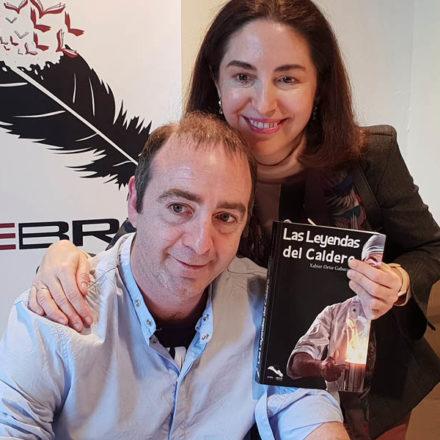Xabier Ortiz nos presenta su primera novela Las Leyendas del Caldero