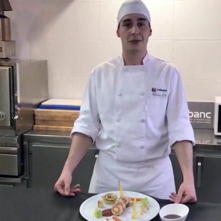Un estudiante guipuzcoano finalista en la gran final del VII Premio Promesas de la alta cocina de Le Cordon Bleu Madrid