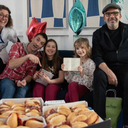 Chefs&kids reune a Eneko Artxa y Jesús Sánchez en Cruces