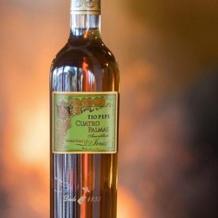 Tío Pepe Cuatro Palmas: el mejor vino del mundo