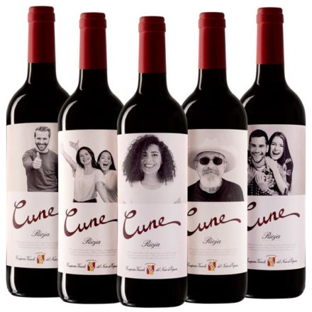 Tu cara en una botella de vino