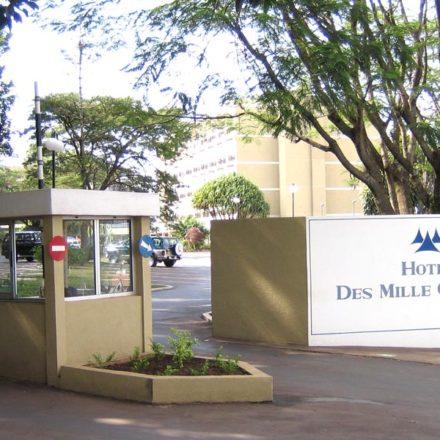Hotel de las Mil Colinas en Rwanda