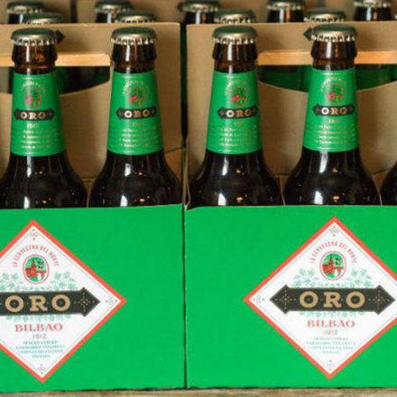 Vuelva la mítica cerveza bilbaina Oro de la mano de Grupo Damm