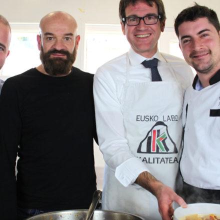 La «versión vitoriana» de las patatas a la riojana del alcalde de Vitoria-Gasteiz