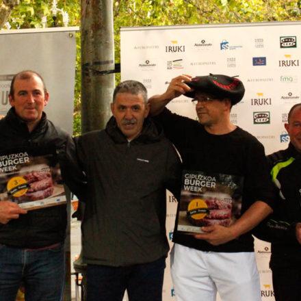 Etxezarreta Harategia de Donostia se alza con el premio a la mejor hamburguesa de Gipuzkoa.